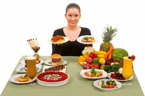 Thực hiện chế độ ăn uống hợp lý