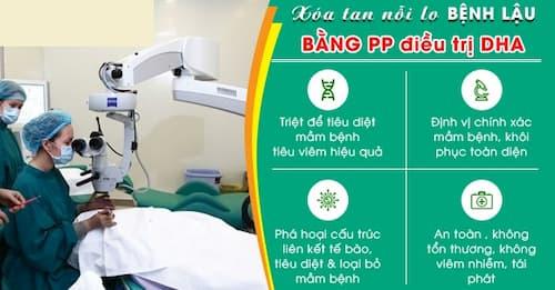 Chữa trị bệnh lậu bằng phương pháp DHA